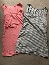 Two GAP Maternity sleeveless tops, size M