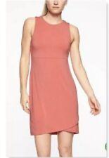 Athleta La Palma Sleeveless Tulip Dress Salmon Size M