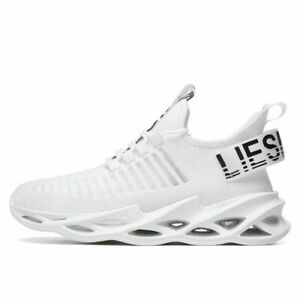 new flying woven casual sports shoes breathable running shoes