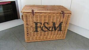 LARGE F&M Fortnum & Mason Basket Hamper
