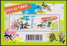 2009 FRANCE BLOC F4341** BF Bandes dessinées  Looney Tune, FETE DU TIMBRE 2009