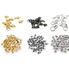 10mm D Rings with 6mm Double Cap Rivets Mirror Picture Photo Frame Hanger Hook