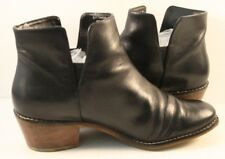 Cole Haan Black Leather Ankle Boots Womens Size US 7M