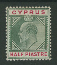 Cyprus SG50w 1/2pi Mounted Mint with vertical crease