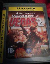 Tom Videojuego Rainbow Six Vegas 2 Sony Playstation 3 PS3 Juego UK PAL