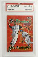 1997 Sports Illustrated Alex Rodriguez #70 PSA 10 Gem Mint Pop 9