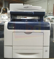 Xerox WorkCentre 6605/N A4 Color Laser Printer Copier Scanner Fax Network 50K