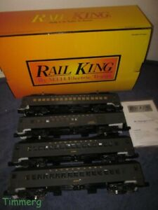 MTH 30-2647-1 RailKing Lackawanna 4-Car R62 Subway Set w/Proto-Sound 2.0 RARE