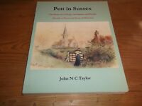 Book. Pett in Sussex. The Story of a Village, its Church & People. 1st. 2004.