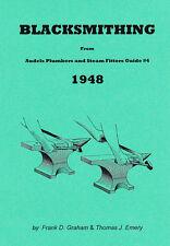 Blacksmithing – 1948 Audels - reprint