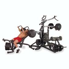 SBL460P4 Body Solid PowerLift Freeweight Leverage Gym