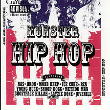 Monster Hip Hop [PA] (CD, Jun-2007, 3 Discs, Cleopatra)
