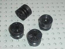Roues LEGO Racers black Wheels 18 x 14 ref 55982 / Set 8088 8161 5974 8159 8630