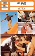 FICHE CINEMA : MR JONES - Gere,Olin,Bancroft,Figgis 1993