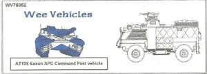 Wee Friends 1/76 British AT105C Saxon APC Command Post Vehicle