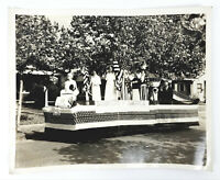 "Vintage 8"" x 10"" Photo - Daughters of America Patriotism Float Ft. Worth, Texas"