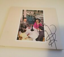 More details for jimmy page - led zeppelin - 100% authentic signed cd cover - presence