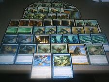 MTG Magic ANGELIC LANDFALL DECK Mythic Rare Angel LOT Custom Azorious