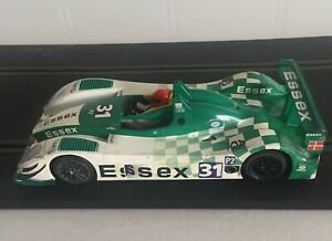 SCALEXTRIC 1/32 Porsche RS Spider, used, vgc, fast, f & r lights,