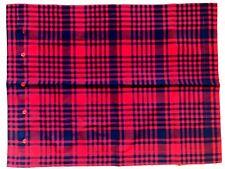 Ralph Lauren Home Saranac Peak Red Plaid Cotton Standard Sham