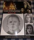 Michael Myers Halloween Kills Movie Dots Lines & Spirals Halloween Coloring Book