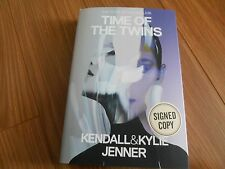 KENDALL & KYLIE JENNER SIGNED - TIME OF THE TWINS Limited Hardcover KARDASHIANS