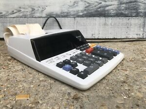 Sharp Electronic Calculator Adding Machine Preowned
