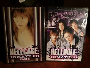 NEW Inmate 611 Hellhole & Hellcage Part 1 & 2 USA Zone 1 import R18+ dvd movies