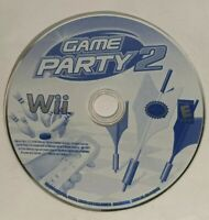 Nintendo Wii Game Party 2 - 2008 Videogame Disc ☆TESTED☆