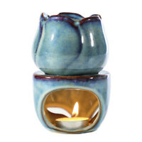 Candle Holder Ceramic Oil Burner Melt Wax Warmer Diffuser Tealight Home Office