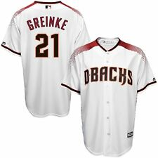 Zack Greinke Arizona Diamondbacks MLB Majestic Kids White Home Jersey Size 4