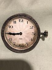 vintage 8 day car clock