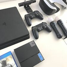 Sony Playstation PS4 + VR + 2x Dualshock 4 + 2x Motion Controller + CAM