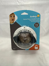 New Safety 1st Secure Mount Deadbolt Lock No Drill Install Child Proof Hs162