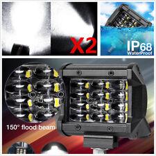 2Pcs 4 in (approx. 10.16 cm) 72 W CREE LED Lámpara Luz de Trabajo Barra Luz de inundación para CAMIÓN AUTOMÓVIL 12 V 24 V