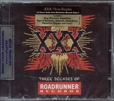XXX THREE DECADES OF ROADRUNNER RECORDS CD SLIPKNOT RUSH MEGADETH MACHINE HEAD