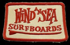 Wind an Sea Surfboards Surf Surfing Patch S-21