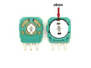 2x Ersatz-Drehwiderstand für PS4 Controller (Analog Stick,Joystick,Poti)W45