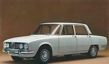 1967 ALFA ROMEO 1750 BERLINA PROSPEKT BROCHURE CATALOGUE ITALIEINISCH