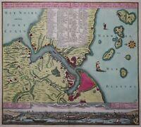 Istanbul - Plan von Constantinopel...  - Lotter - Original 1770 - Rare engraving