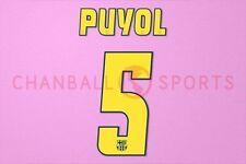 puyol #5 2004-2006 barcelona homekit nameset printing