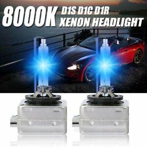 2x D1S OEM HID XENON BULBS 8000K DIRECT REPLACEMENT HEADLIGHT LAMP 66140 66144
