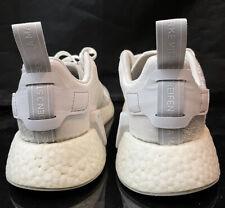 Adidas boost Sz 7 wmns or 6 mens Nmd woven Ultra Mesh Glitch Grey Pk lot  og