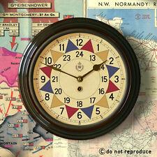 "RAF Royal Air Force WW2 1940 Battle of Britain Sector Wall Clock 12"" Fine repro"