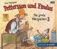 SVEN NORDQVIST - PETTERSSON UND FINDUS-DIE GROßE HÖRSPIELBOX 3   3 CD NEU