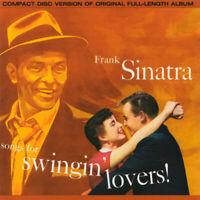 FRANK SINATRA ~ Songs For Swingin' Lovers ~ 1987 US 15-track REMASTERED CD album