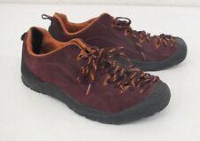 KEEN Maroon Suede Leather Sneakers US Women's 7.5 EU 38 Satisfaction Guaranteed