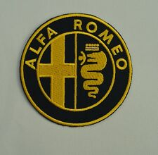 patch alfa roméo , broder et thermocollant 9cm