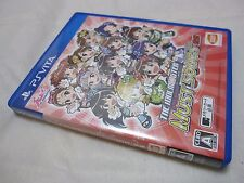 7-14 Days to USA USED PS Vita The IdolM@ster Must Songs Aka Ban Japanese Version