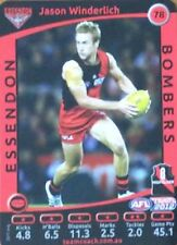 2012 AFL TEAMCOACH ESSENDON BOMBERS JASON WINDERLICH #78 COMMON CARD FREE POST